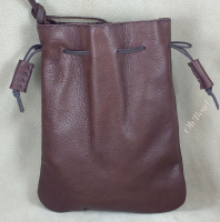 Leather pouches are available in five sizes.