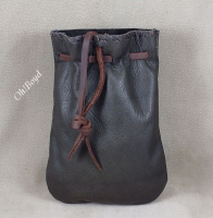 These hand made leather bags come in several colors.