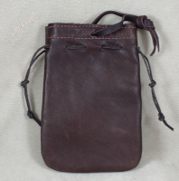 Pouches back - secure tying thong (hanger).
