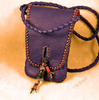 Shoulder - cross body, day or evening bag for smart phone.