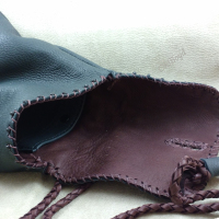 Inside back - a room snap pouch.
