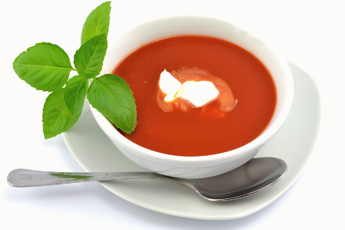 dayly soup  or salad   in menu  2-4