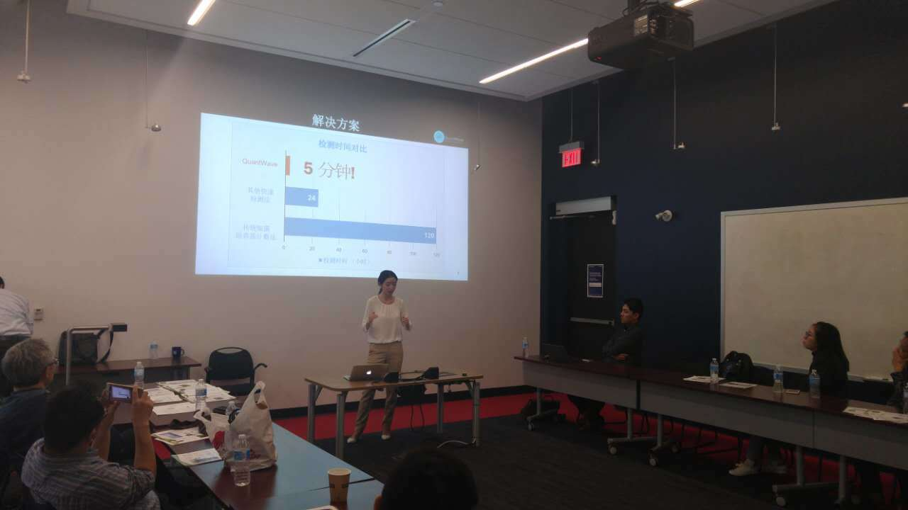 Invited pitch with international investors from Jiangsu, China