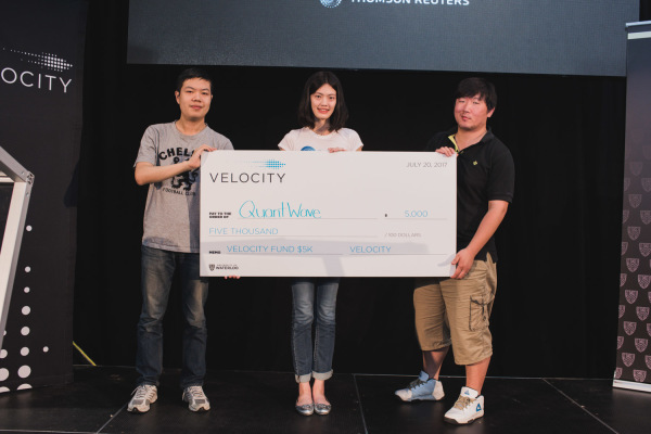 QuantWave Won $5K at Velocity Fund Finals (VFF)