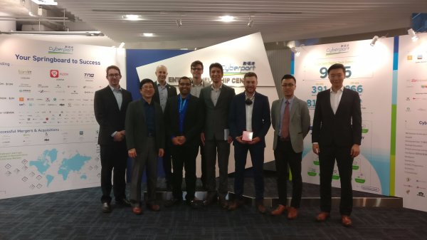QuantWave Pitched at the Velocity Investor Demo Day in Hong Kong