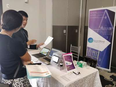 QuantWave Demonstrates Cutting-edge Technology at AWT Conference