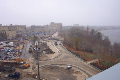 Waterfront Drive Construction