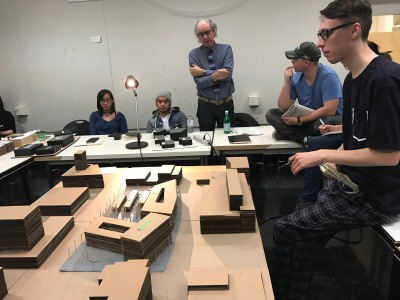 UofM Architecture Students Explore former PSB site