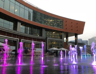 True North Square Plaza Opens