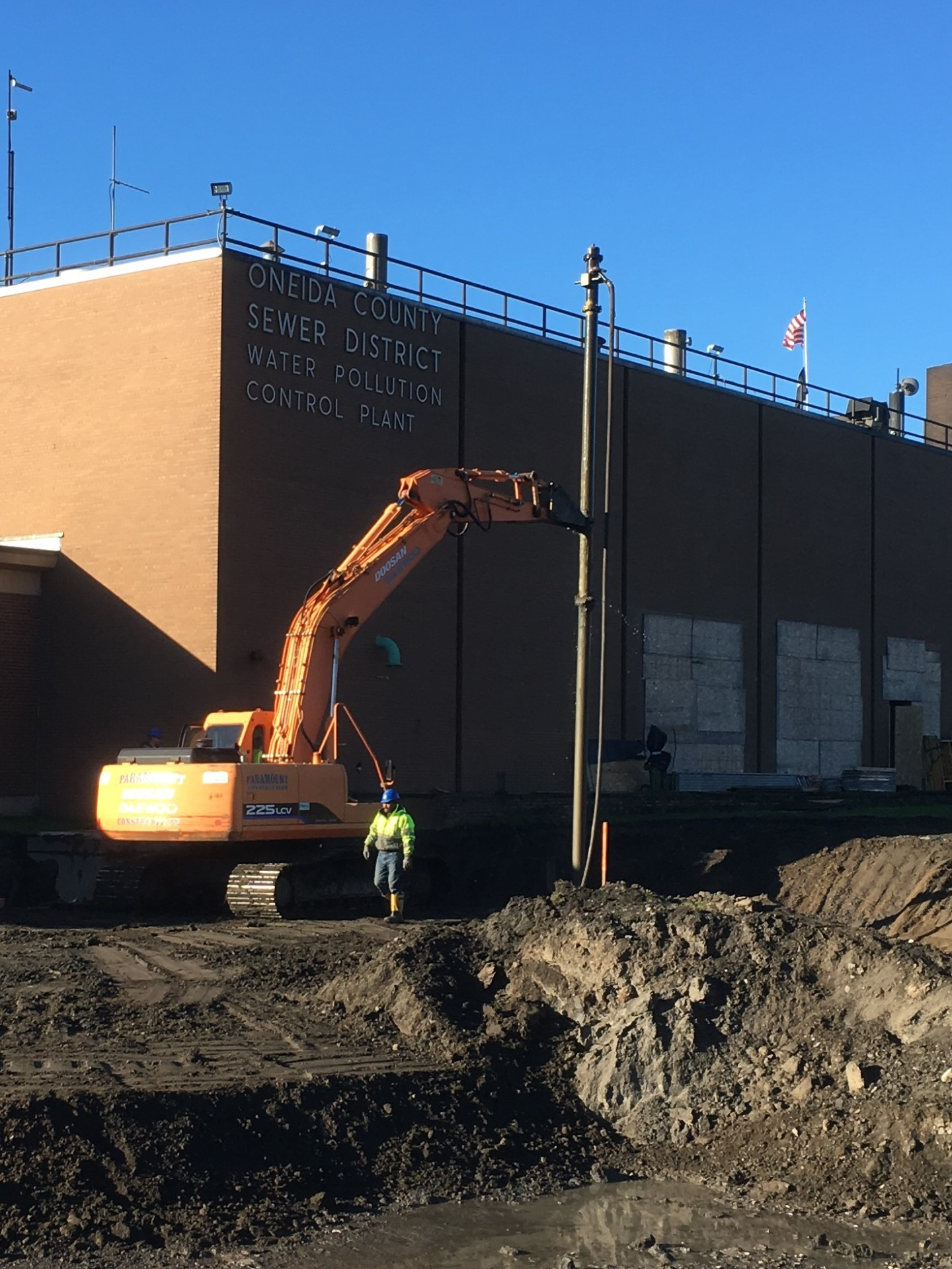 Utica New York: Oneida County Water Pollution Control Plant Upgrade: