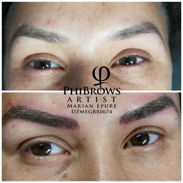 Brows top up