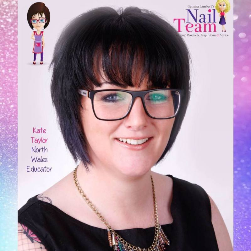 alt=kate taylor north wales nail tech and educator for acrylic and gel courses. learn nails