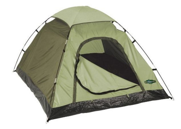 $15 Stansport Hunter Series Hunter Buddy 2 Pole Dome Tent by Stansport