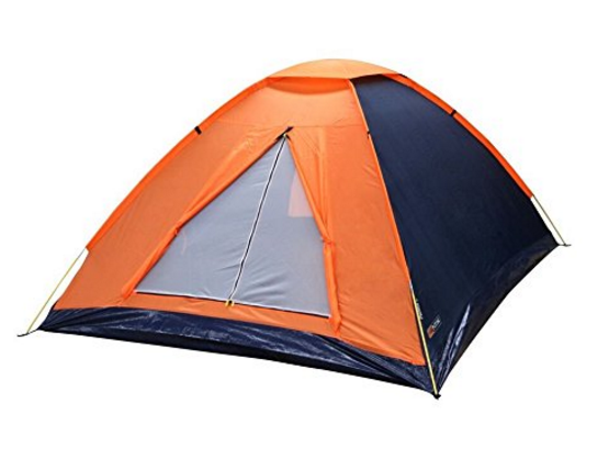 $20 NTK Panda 4 Person 6.7 by 6.7 Foot Sport Camping Dome Tent by NTK