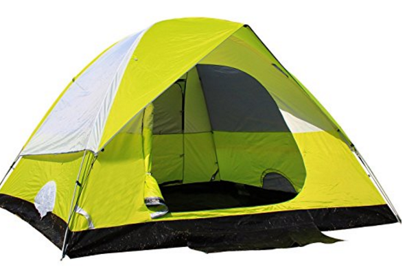 $50 STAR HOME Tents Factory 6 Person Double Layer Family Tents for Camping