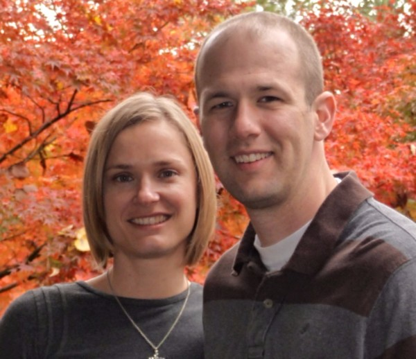 Michael Bergeron, Elder, & his wife Amy