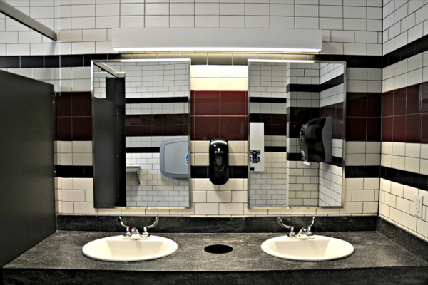 Purdue University Matthews Hall Restroom