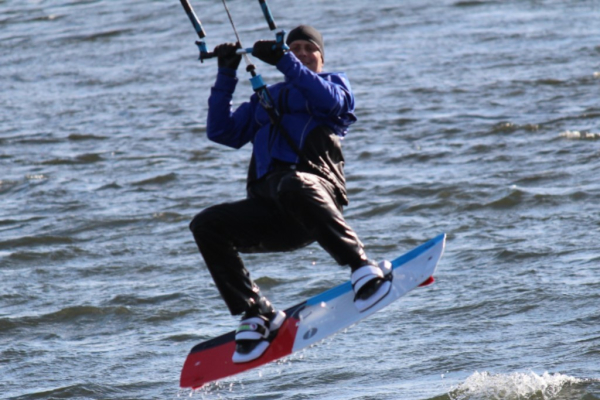 Kiteboarders Rock