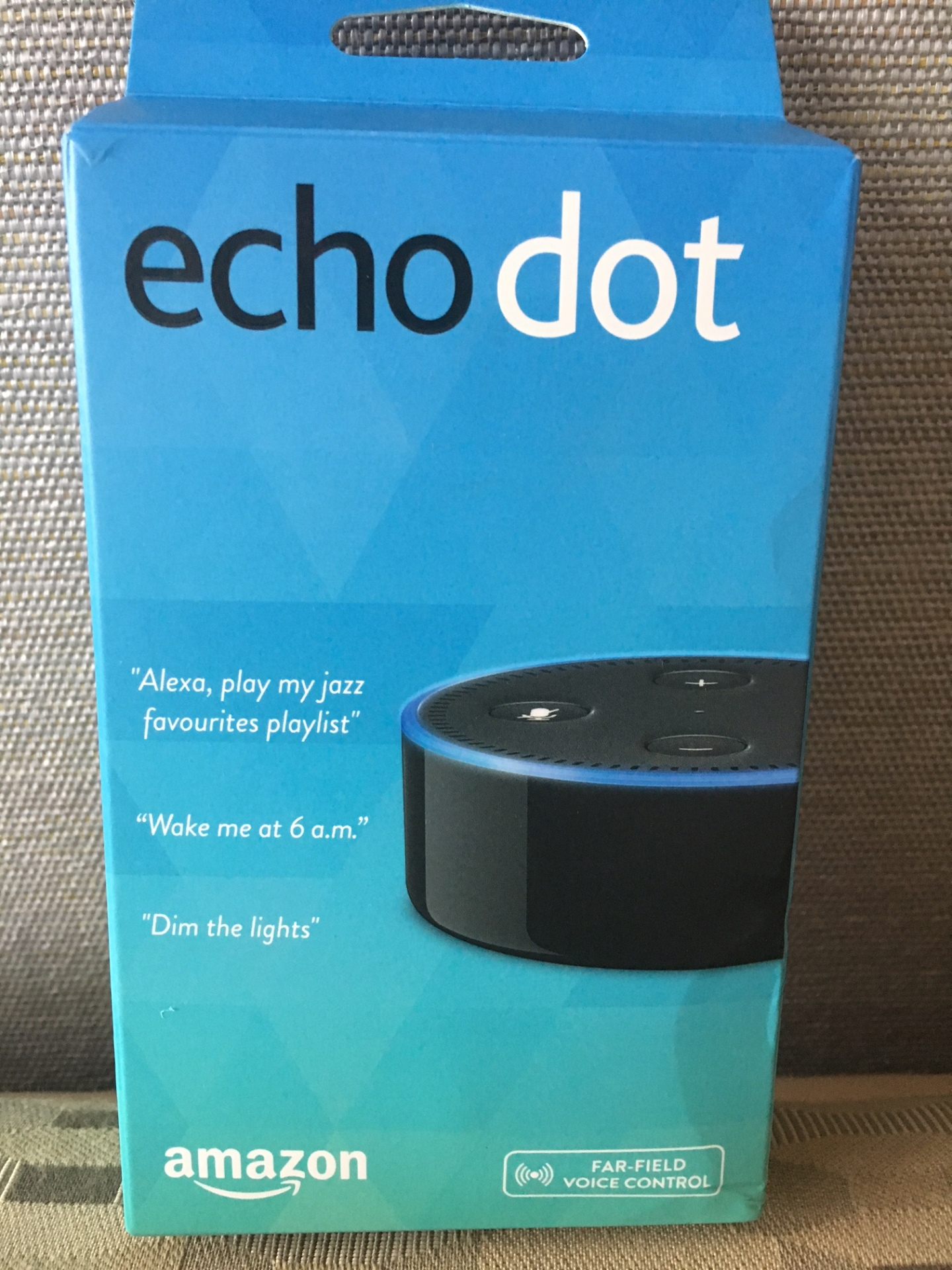 Thank you Bob and Helen! echo dot arrived from the UK today!