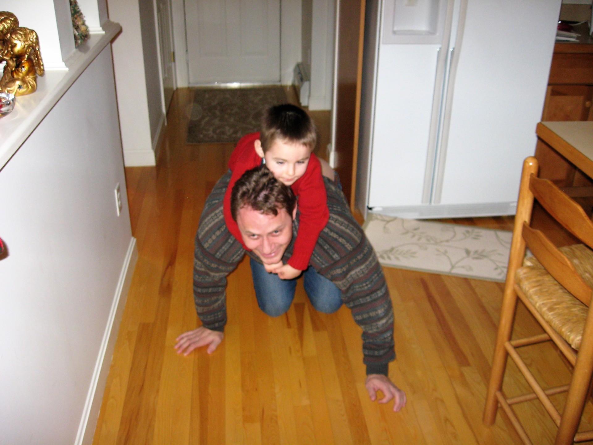 Uncle Joe and Logan