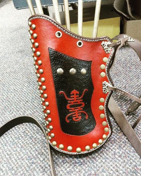 Tooled leather option