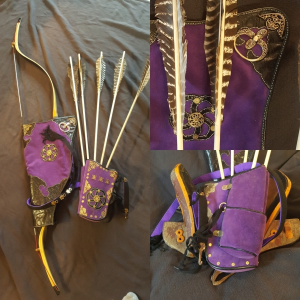 Late Qing Dynasty Imperial Guard Quiver