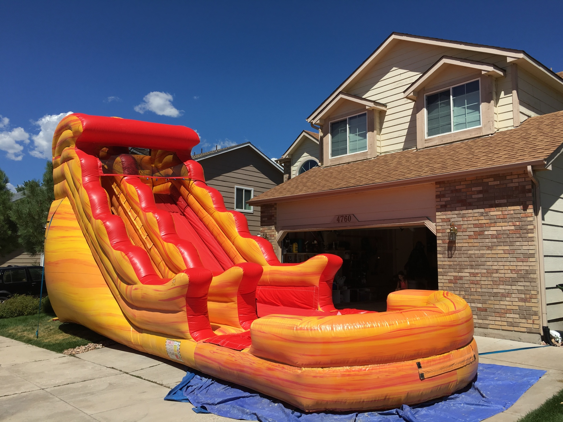 water slide for rent colorado springs, fountain colorado water slide rental, resbaladilla de agua de renta colorado springs