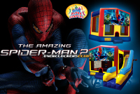 Spiderman bounce house rental in colorado springs, avengers jumpers for rent