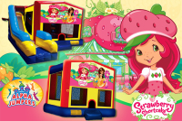 Strawberry shortcake bounce house rental in colorado springs, Strawberry shortcake jumpers for rent