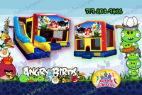 Angry birds bounce house rental in colorado springs, Angry birds jumpers for rent