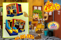 chavo del ocho bounce house rental in colorado springs, chavo del ocho jumpers for rent