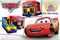 Disney Cars bounce house rental in colorado springs, Disney Cars jumpers for rent