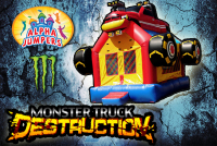 Monster truck bounce house rental in colorado springs, Monster truck jumpers for rent