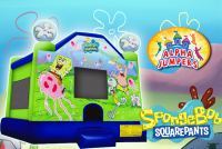SpongeBob bounce house rental in colorado springs, SpongeBob jumpers for rent