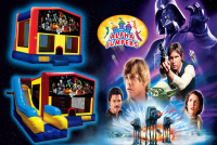 Star Wars bounce house rental in colorado springs, Star Wars jumpers for rent