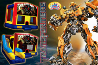 Transformers bounce house rental in colorado springs, Transformers jumpers for rent