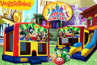 Veggie Tales bounce house rental in colorado springs, Veggie Tales jumpers for rent