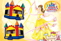 Castle bounce house rental in colorado springs, Castle  jumpers for rent