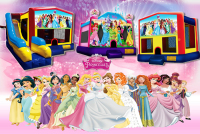 Disney princess bounce house rental in colorado springs, Disney princess jumpers for rent
