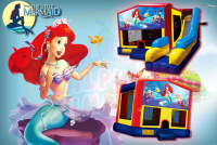 Little Mermaid bounce house rental in colorado springs, Little Mermaid jumpers for rent