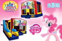 Little pony  bounce house rental in colorado springs, Little pony jumpers for rent