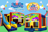 Peppa Pig bounce house rental in colorado springs, Peppa Pig jumpers for rent