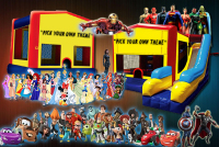 plain bounce house rental in colorado springs, plain jumpers for rent
