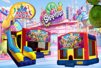Shopkins bounce house rental in colorado springs, Shopkins jumpers for rent