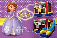 Sophia the first bounce house rental in colorado springs, Sophia the first jumpers for rent