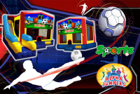 Sports bounce house rental in colorado springs, Sports jumpers for rent