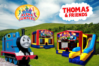 Thomas Train bounce house rental in colorado springs, Thomas Train jumpers for rent