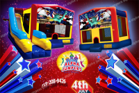 4th of July bounce house rental in colorado springs, 4th of July jumpers for rent