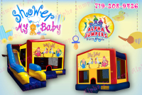 Baby Shower bounce house rental in colorado springs, Baby Shower jumpers for rent