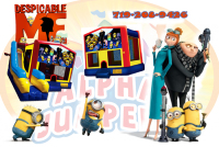 Despicable me bounce house rental in colorado springs, minions jumpers for rent